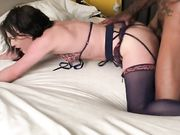 With BBC she reached maximum sexual pleasures